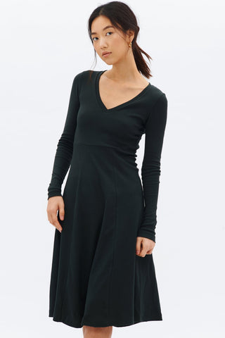Kotn Deep V dress