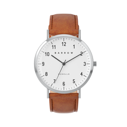 Sample Sale - Petite Gold Watch | Tan Leather + Mesh