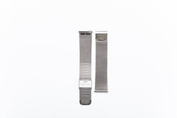 Modello Silver Stainless Steel Mesh Watch Strap - 20mm