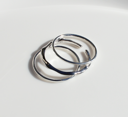Sienna Stacker Ring Collection | Silver