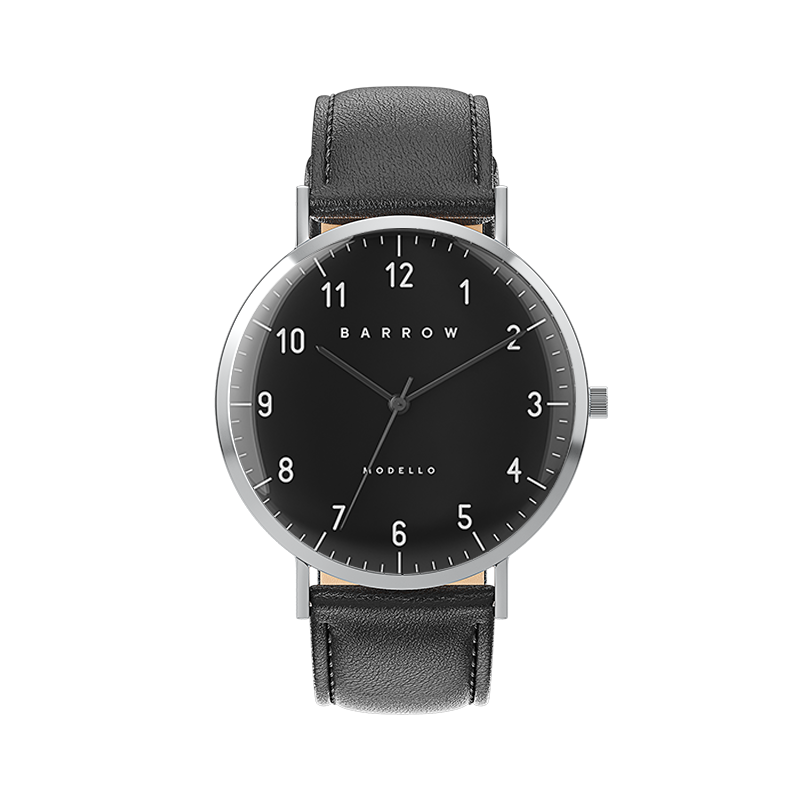 Sample Sale Modello Steel/black watch