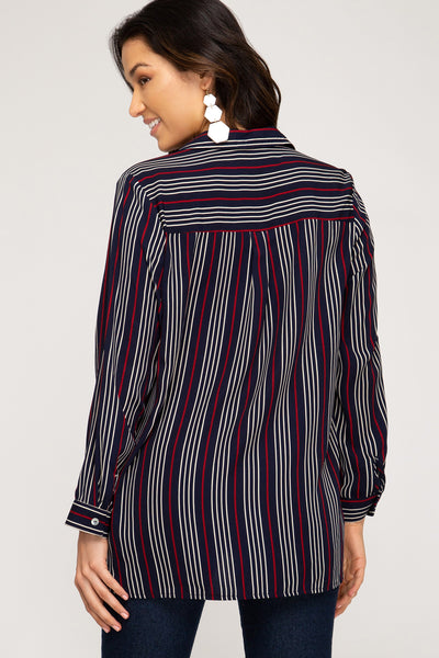 Annabelle Striped Top