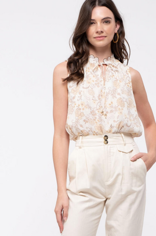 Parsons Sleeveless Top