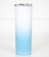 Blue Ombre Tall Travel Cup
