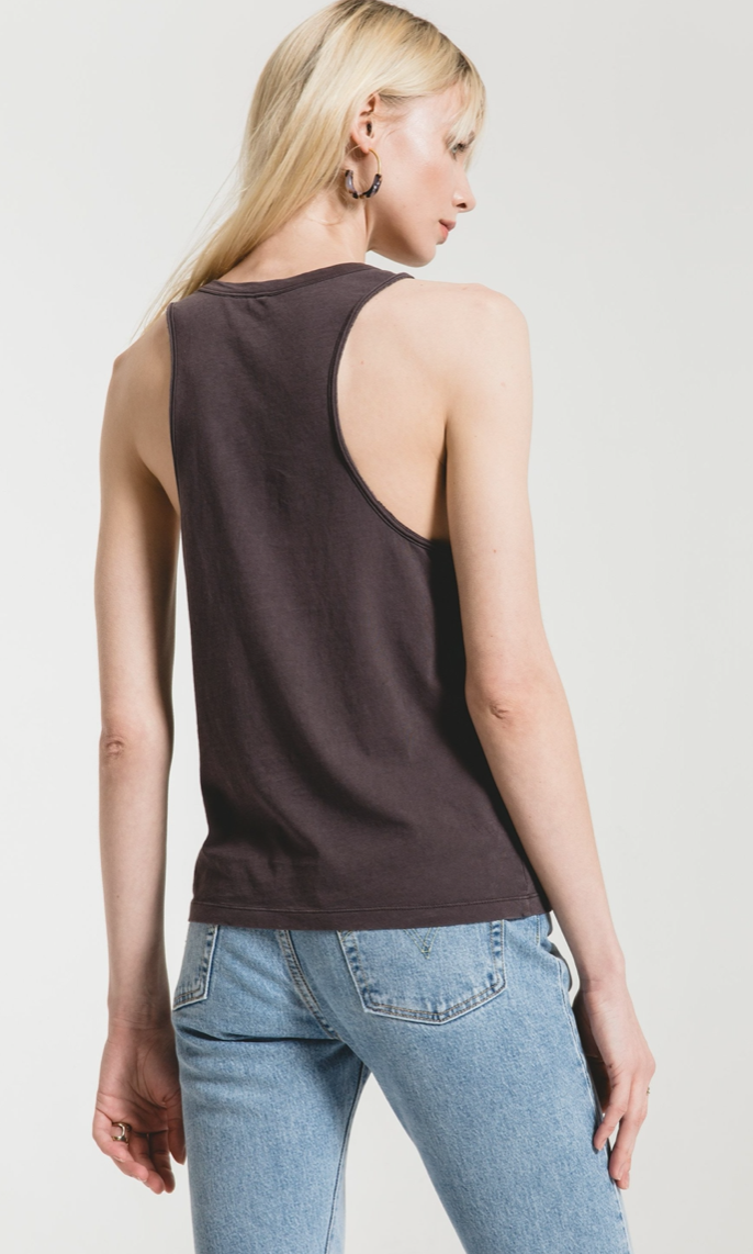 Organic Cotton Muscle Tank Z Supply