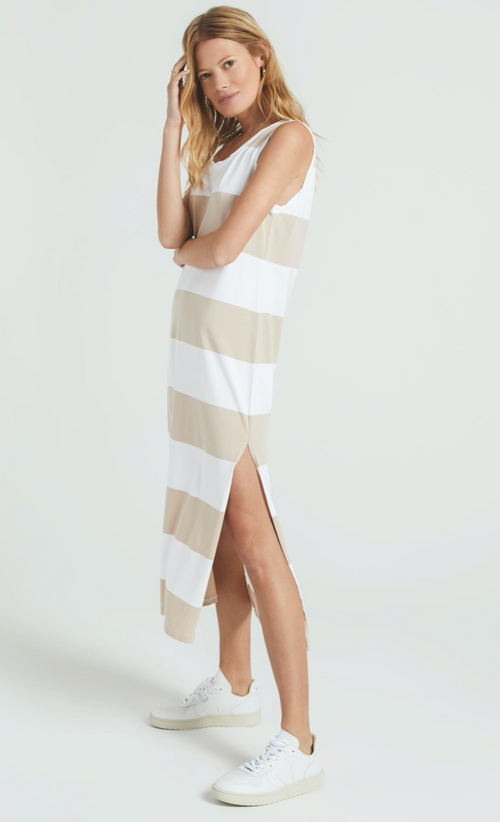 Lida Stripe Dress Z Supply