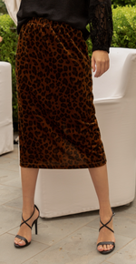 Nick Leopard Skirt