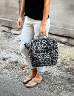 Julia Leopard Convertible Bag