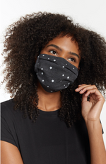 Z Supply Face Coverings Star Black Pack