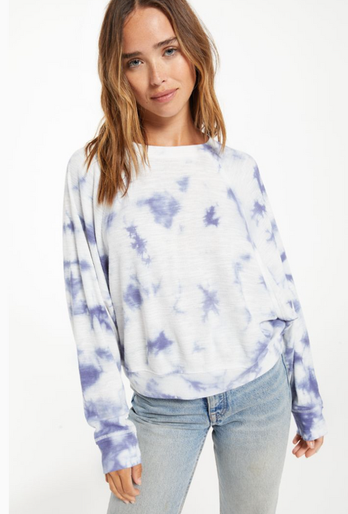 Claire Cloud Tie-Dye Top