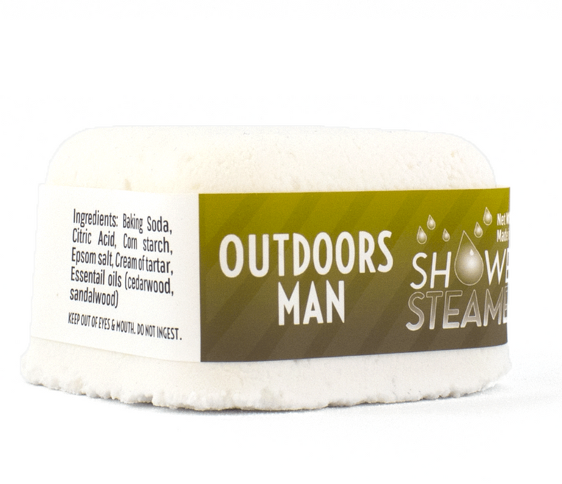 Outdoors Man Shower Steamer