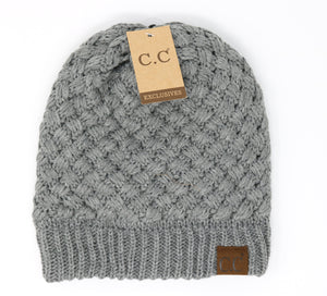 Basket Weaved Beanie