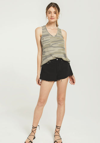Camo Pocket Racer Tank