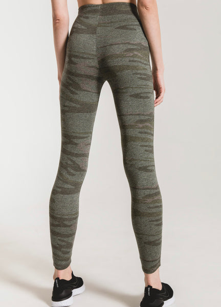 Camo Mod Knit Leggings