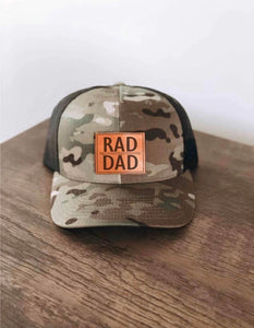 Rad Dad Camo Hat