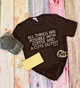 Coffe and Cute Outfit