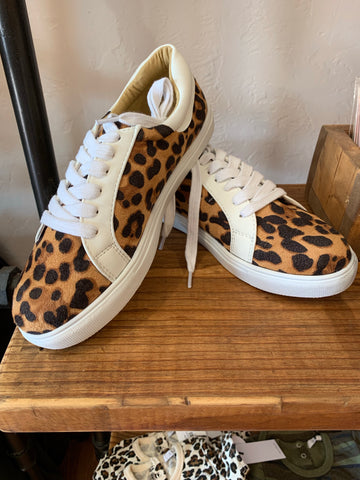 Abby Leopard Tennis Shoe