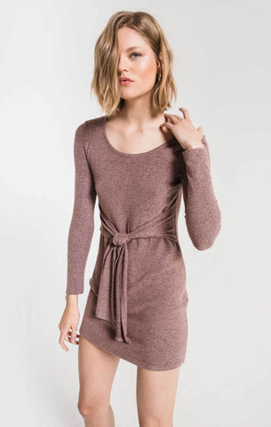 The Marled Wrap Dress