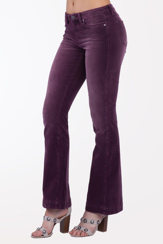 Sadie Highrise Flare Perfect Plum