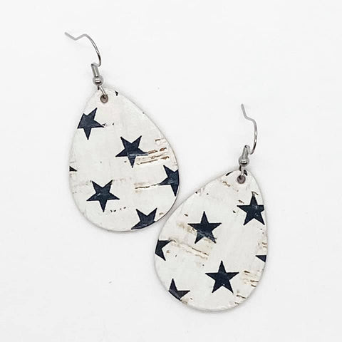 Star Cork Earrings