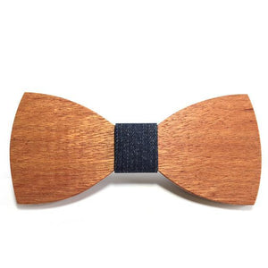 Fancy Wooden Bowtie