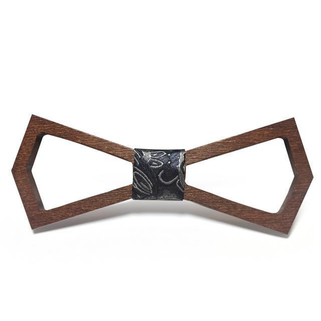 Unique Wooden Bowtie