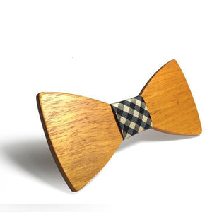 Casual Wooden Bowtie