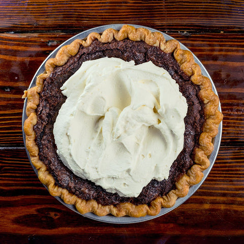 Chocolate Brownie Pie