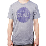 """The Pie Hole"" T-shirt (grey)"