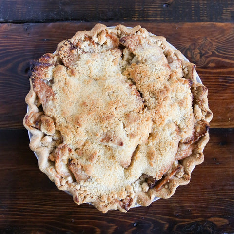 Mom's Apple Crumble Pie