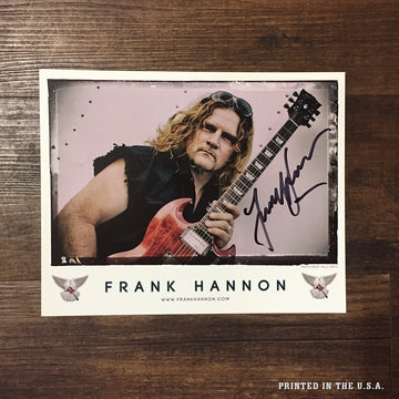 AUTOGRAPHED FRANK HANNON 8 x 10 | World Peace