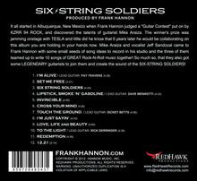 AUTOGRAPHED SIX-STRING SOLDIERS (CD)