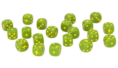 Team Yankee NATO Australian Dice Set