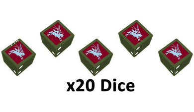 6th Airborne Division Dice Set