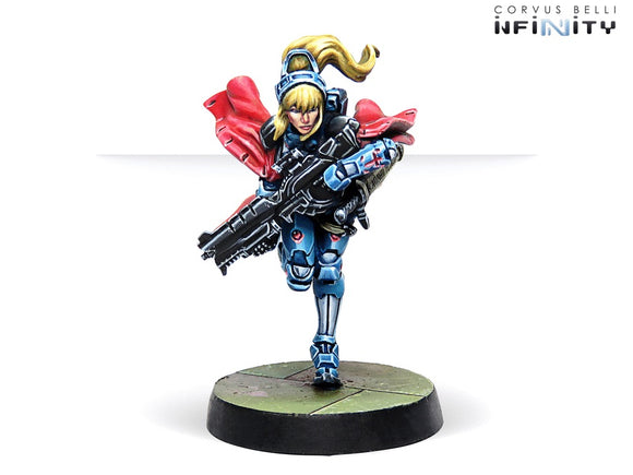 Infinity: Jeanne d'Arc 2.0 (Mobility Armor) (Spitfire)