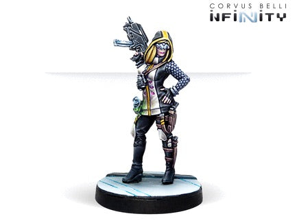 Infinity: Dart, Optimate Huntress ( Submachine Gun Grenades)