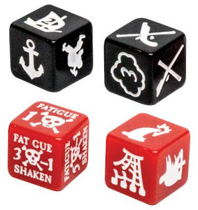 FIRELOCK BLOOD & PLUNDER: MARKER DICE SET