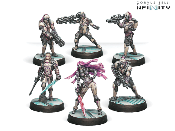 Infinity: Aleph The Steel Phalanx Starter Pack