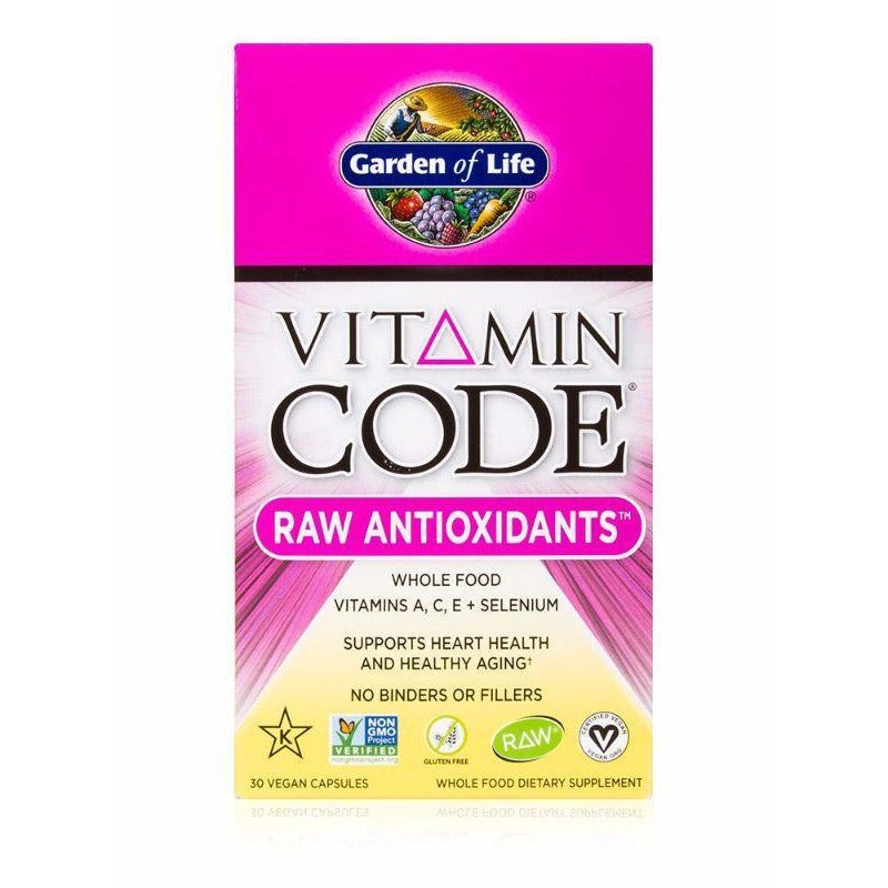 Vitamin Code Raw Antioxidants - 30 Vegan capsules