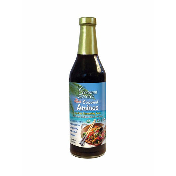 Coconut Aminos, Soy-Free Seasoning Sauce - 500ml