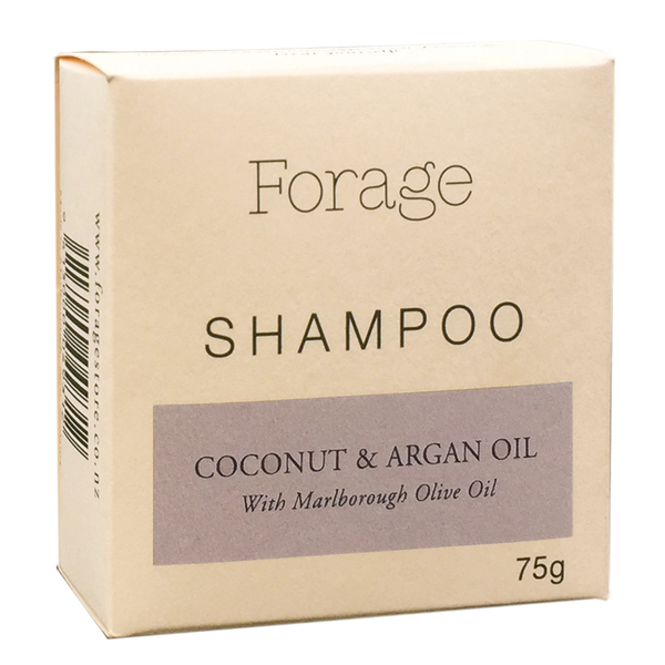 Forage Shampoo Bar - Coconut & Argan Oil  75g