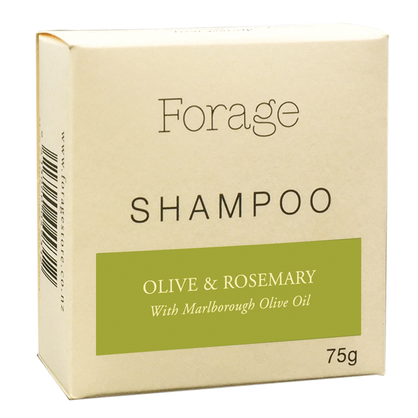 Forage Shampoo Bar - Olive & Rosemary 75g