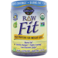 Raw Fit, High Protein For Weight Loss, Vanilla - 457g