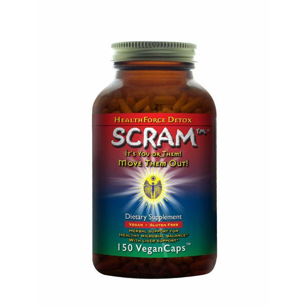 SCRAM! Healthforce Nutritionals - 150 Vegan capsules