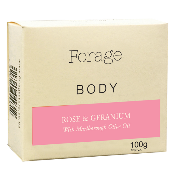 Forage Body Bar - Rose & Geranium