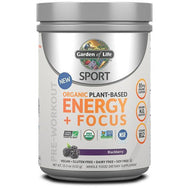 Sport Organic Plant Based Energy + Focus, Blackberry