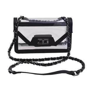 Policy Handbags - Clear Envelope Bag- Mini