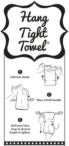 Twisted Wares - When I Open My Mouth My Mom Comes Out HANG TIGHT TOWEL®