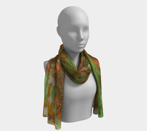 Autumn Winds Long Scarf