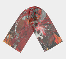 Fire Storm Long Scarf